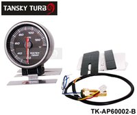 Wholesale Tansky METER GAUGE OF CARS APEXI MM WATER TEMP GAUGE ELECTTRO LUMINESCENT black white original color box TK AP60002