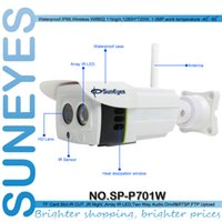 Wholesale SunEyes SP P701W P Wireless IP Camera ONVIF Outside Weatherproof with Micro SD Slot Free P2P for Android and IPhone APP