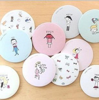 Wholesale Korean LIVEWORK Sweet little mirror makeup New cosmetic pocket mirror makeup blank compact mirror dhl fedex