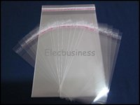 self adhesive bags - 1000pcs Sizes U Pick Clear Self Adhesive Plastic Poly OPP Packing Package Bag Without Hang x7 x8 x10 x14 x14 x16 x20 x24