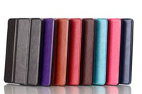 kindle fire hd - Hot selling Smart PU leather with tri fold stand for new Kindle fire HD