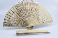 hand fans - Wedding Fans Wooden Fans Handmade Chinese Sandalwood Fans Ladies Hand Fans Advertising and Promotional Folding Fans Bridal Accessories