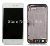 Wholesale Original new For MEIZU MX3 M055 MX065 Full LCD Display Touch Screen Digitizer Assembly with frame white color