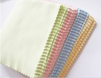 Wholesale Colorful Microfiber Eyeglasses Cleaning Cloth x14cm Eye Glasses Contacts Lens Cleaning Supplies Factory Direct