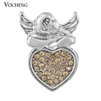 angels hook - Vocheng NOOSA Chunk Snap Button DIY Noosa Accessories for Jewelry Weeping Angel Jewelry Vn