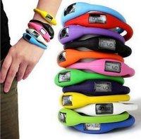Caoutchouc Sport mignon bonbons Jelly Ion silicone poignet Bracelet Ohsen Montre Pour Hommes Femmes Led Montres bracelet Pocketwatch DHL GRATUIT