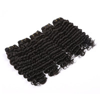 Cheap Rosa Hair Products Malaysian Human Hair Weaving Hair Deep Wave Can Be Dyed And Bleached Can Be Dyed