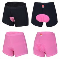 Wholesale Women s Breathable Cycling Short Lady Antibacterial Bicycle Riding Short Elastic Female Fitness Underwear