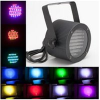 Wholesale 86 RGB LED Stage Light Par Light Channel DMX512 Control W Laser Projector DJ Party Disco Stage light AC V with EU US plug