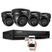 alerts email - CH H CCTV DVR Recorder with x TVL Security Dome Camera System Day Night Vision Email Alerts Motion Detection P2P QR Code Scan R