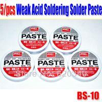 Wholesale Freeshipping Weak Acid Soldering Solder Paste Solder Flux Grease Paste BS order lt no track