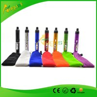Wholesale Click N Vape sneak A vape sneak a toke smoking metal pipe Vaporizer ash catcher glass water pipe bong tobacco weed Wind Proof Torch Lighter