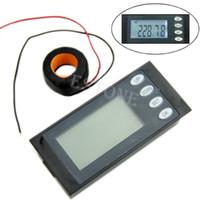 Бесплатная доставка 5 в 1 AC260V 100A Цифровая панель Combo вольтметр Amp кВтч Вт Рабочее время + КТ порядка $ 18no трек