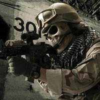 Wholesale M02 Outdoor Airsoft Paintball Mask Military Equipment Mascara Army Horror Tacitcal Masks Full Face Skull Mask Fallout M02