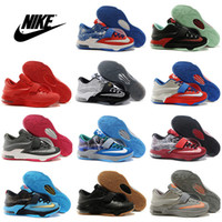 Wholesale Nike KD VII Basketball Shoes Men Cheap Retro Kevin Durant Boots KD7 Hot Sale Sneakers Top Quality Mens Sport Shoes