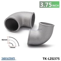 Wholesale TANSKY High Quality mm quot Cast Aluminum Elbow Degree Pipe Turbo Intercooler Universal TK LZG375
