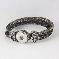 american beauty rose - Vintage Rose Bracelet Rose Snap Button Bracelet Noosa Jewelry Beauty Lover Bracelet DHL