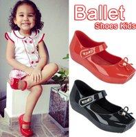 Wholesale Mini Melissa shoes NEWEST mini melissa ballet sandals for Girls Original melissa infantil baby shoes