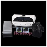 bath ac - DHL Fast Shipping Good Service Two People Detoxification At The Same Time Detox Machine Foot Bath Machine Ion Cleanser Foot Spa Machine