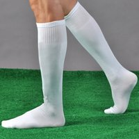 Wholesale 8 Colors Mens Long Soccer Socks Football Socks Jacquard breathable mesh Sports Sock