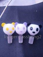 animal panda - 2016 NEW HEADY Glass Bowl Panda glass bong animal glass bowl glass bowl Accessories