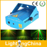 animation laser - New Arrival Animation Laser Light AC110V V mW Red Green Auto Strobo Mini Laser Light Stage Lighting For Home Party or Disco