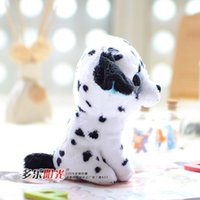 Wholesale 2014 new TY big Crystal Eye Cute Dalmatians Dogs doll plush toy for kids best gift for girl children toys MR6034