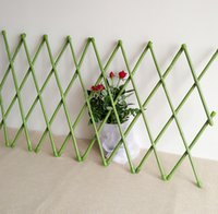 bamboo fence - 30X135cm PVC Coated Bamboo Fence Tensile Waterproof Garden Trellis Garden Decoration Fencing