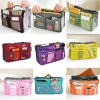 Wholesale New Sale Make up organizer bag Women Men Casual travel bag multi functional Cosmetic Bag storage bag in bag Handbag Colors