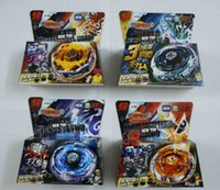 Wholesale Beyblade Metal Fusion D System LOOSE Battle Top Set Masters Styles Can Choose Kids Game Toys L0084