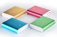 Wholesale xiaomi power bank cell phone charger mAh external battery for iphone samsung htc good quality