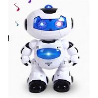 al por mayor astronautas de juguete-Control remoto de baile Robot Astronauta Niños Music Light Toys