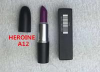 brand lip stick - Good Quality Brand makeup MATTE LIPSTICK ROUGE A LEVRES G lip stick different color