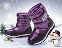 china shoes children - China Top Brand children boots children winter shoes boys girls boots waterproof slip resistant fashion kids snow boots25