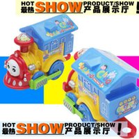 battery operated locomotive - Electric toy electric locomotive Thomas with lantern with music toy