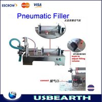 Wholesale Pneumatic filling machine ML automatic Horizontal pneumatic liquid filling machine Pneumatic filler