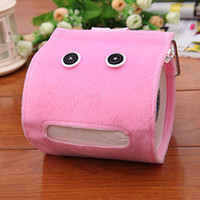 Wholesale Creative cartoon toilet tissue pumping storage box home furnishings merchandise special toilet