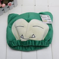 Wholesale Cartoon Cute Snorlax cotton Hat Lovely Snorlax Caps in opp bag