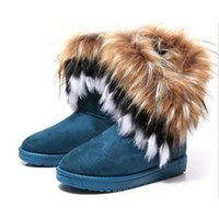 fluffy boot - Special Fluffy Snow Boots for Girls Super Comfortable Winter Snow Boots Warm Unquite Style for Sale