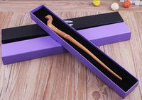 Wholesale 200pcs DHL Harry Potter Magic Wand Dumbledore Magic Magical Wand Cosplay Wands With box Non luminous Styles