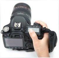 Wholesale High Quality hand grip PU Leather Soft Camera Grip Wrist Strap for SLR DSLR Camera camcorder