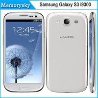 samsung cell phone - Original Cell phone Samsung Galaxy S3 i9300 Quad Core MP Camera NFC GPS Wifi G Unlocked Phone Refurbished phone DHL shipping
