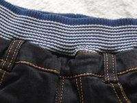 baby boy news - soft boy girls baby jeans winte denim and fleece black casual pants boys girls trousers news not fade