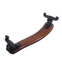 Wholesale Brand New Maple Wood Violin Viola Shoulder Rest Pad Support Holder Adjustable Size Entertainment facilities accessories