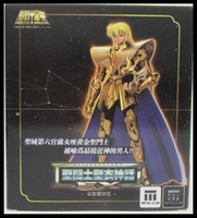 Wholesale MetalClub Virgo Shaka Saint Seiya metal armor Myth Cloth Gold Ex Action Figure