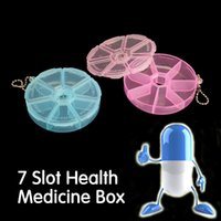 Wholesale Medicine Weekly Storage Pill Day Tablet Sorter Box Container Case Organizer Health Care Portable Mini Pill Box Day Pill Box