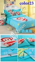 Polyester / Cotton Knitted Home Cheap Bedding set full Queen King Size fashion Bed set Luxury Bed sheet sets Bed Linen Duvet Cover purple Bedclothes Bedspread