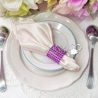 Wholesale FBH071772 napkin ring back yarn decorative accessories hotel wedding wedding banquet supplies