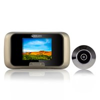 Wholesale Hot TFTEques R03 Digital Peephole Viewer Visual Cat Eye Doorbell HD door Camera Door Camera Motion Detect AA Alkaline batteries
