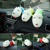 air freshener dolls - HOT New Dog Doll Car Deodorant Bamboo Charcoal Bag Purify Auto Air Freshener Lessen Radiation Indoor Decoration Toys CM CM